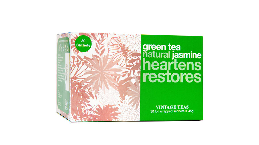 Зелен чай с жасмин